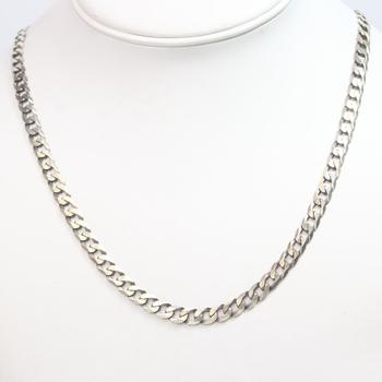 Sterling Silver 21.99g Necklace