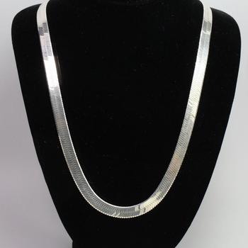 Sterling Silver 40.77g Necklace