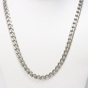 Sterling Silver 64.76g Necklace