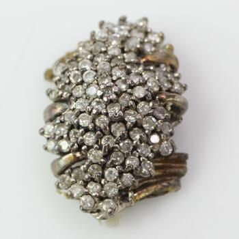 Sterling Silver Diamond Scrap 6.7g