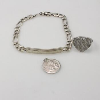 Sterling Silver Jewelry 23.7g