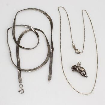 Sterling Silver Jewelry, 3 Pieces