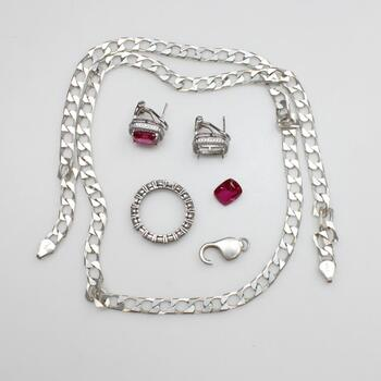 Sterling Silver Jewelry, 4 Pieces