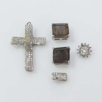 Sterling Silver Jewelry, 5 Pieces 8.4g