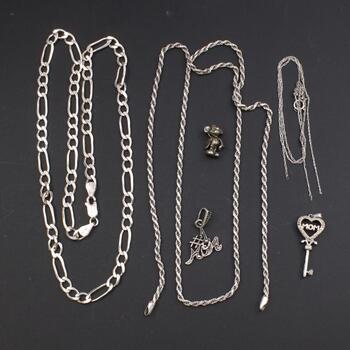 Sterling Silver Jewelry, 7 Pieces
