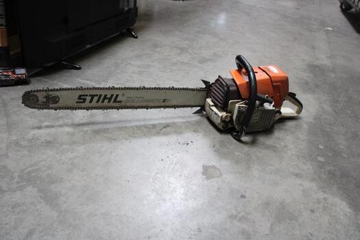 """Stihl Chainsaw W/ 26"""" Bar"""
