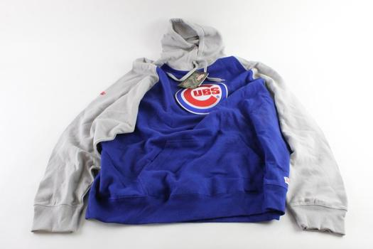 Stitches Cubs Pull Over Hoodie, Size 2XL