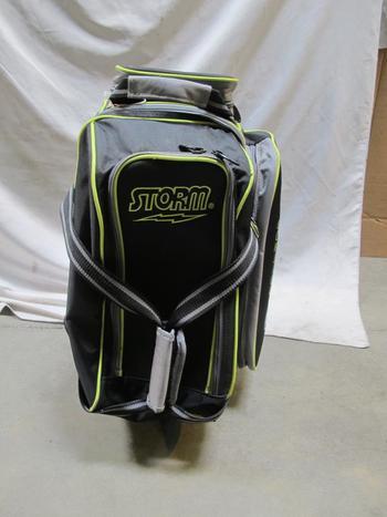 Storm Rolling Thunder Bowling Bag, Bowling Balls: Brunswick Rhino, Ebonite Tornado