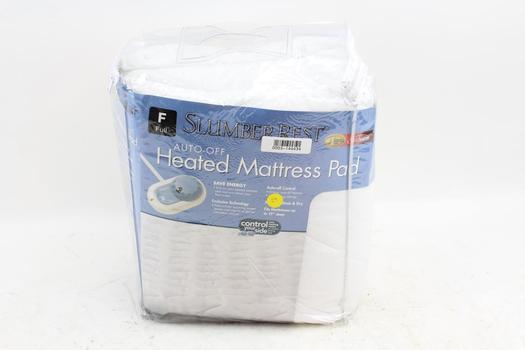 Sunbeam Slumber Rest Auto Off Heated Mattress Pad Size