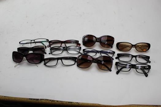 Sunglasses And Eyeglasses Bulk Lot, 10+   Pieces