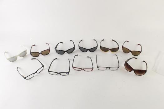 Sunglasses And Eyeglasses Bulk Lot, 11 Pieces