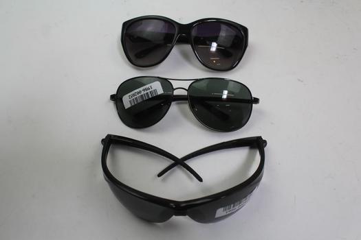 Sunglasses And Eyeglasses Bulk Lot, 3 Pieces