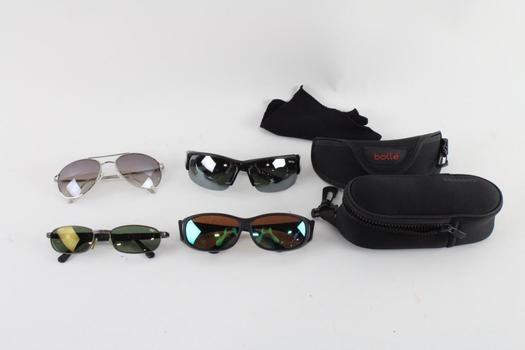 Sunglasses And Eyeglasses Bulk Lot, 4 Pieces
