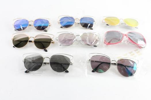 Sunglasses Bulk Lot, 8 Pieces