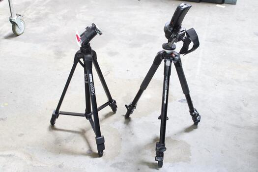 Sunpak 6000PG  & Manfrotto 190XB Tripods