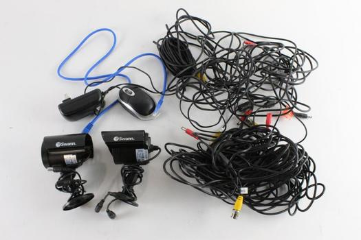 Swann Security Cameras And More, 5+ Pieces