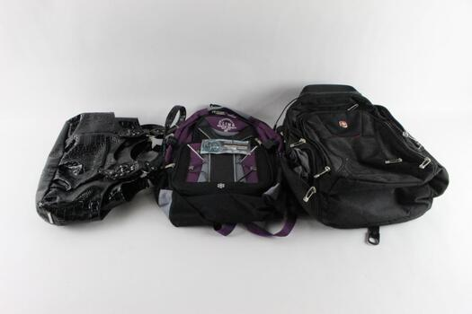 Swiss Gear And Other Backpacks And More, 3 Pieces
