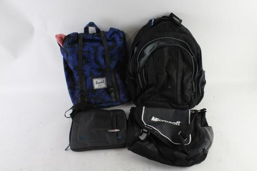 Swiss Gear And Other Brands, Backpack And More, 5 Pieces