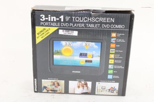 Sylvania 3 In 1 Touchscreen Combo