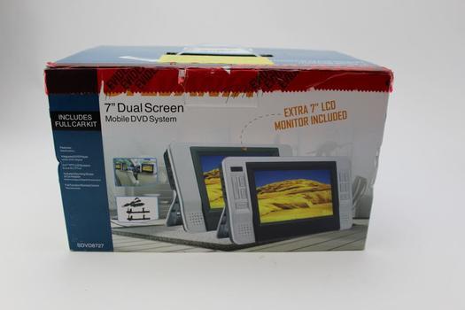 "Sylvania 7"" Dual Screen Mobile Dvd System"