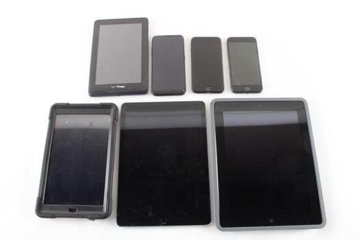 Tablets And Phones 7 Pieces