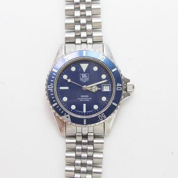 Tag Heuer Professional 1000 200m Stainless Steel Watch