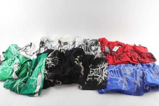 Tapout T-Shirts, S, M, L And XL, 10+ Pieces
