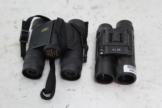 Tasco, Other Unknown Brand Binoculars, 2 Pieces