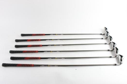 Taylor Made RAC Golf Irons, 6 Clubs