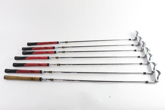 Taylor Made RAC Golf Irons, 7 Clubs