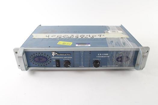 Technical Pro Amplifier