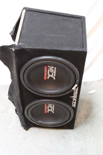 Terminator/ MTX Audio Car Speaker