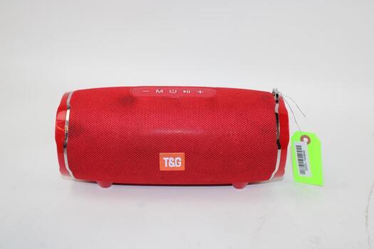 T&G Red Speaker Unknown Model