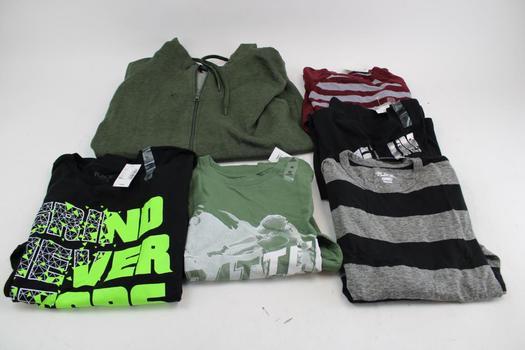 The Children's Place, Express, & Ecko Unltd Assorted Men's & Boys Clothing; 6 Pieces