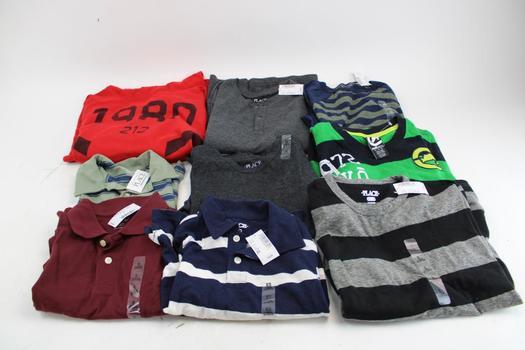 The Children's Place, Express, & Ecko Unltd Assorted Men's & Boys Clothing; 9 Pieces