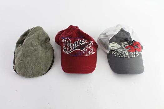 The Children's Place Kid's Hats, 3 Pieces