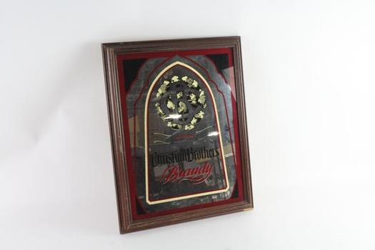 The Christian Brothers Brandy Mirrored Wall Sign