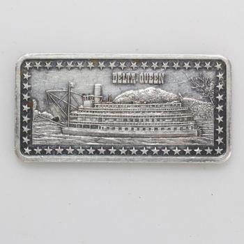 The Hamilton Mint 1 Oz Fine Silver Bar
