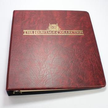 The Heritage Collection Stamp Book, Includes 140+ Stamps