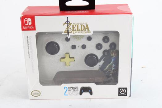 The Legend Of Zelda Breath Of The Wild Controller For Nintendo Switch