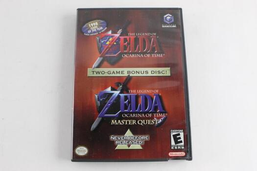 The Legend Of Zelda Two-Game Bonus Disc For Nintendo Gamecube