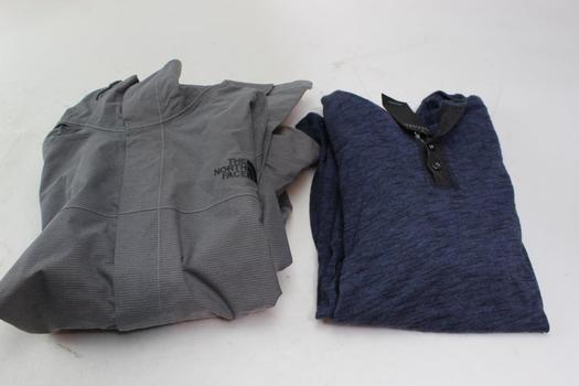 The North Face, Robert Barakett Sweater, Jacket, Size M, 2 Piece Count