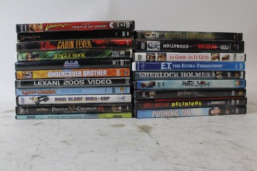The Punisher, Undercover Brother, Pirates Of The Caribbean 2, And More DVDs, 5+ Pieces