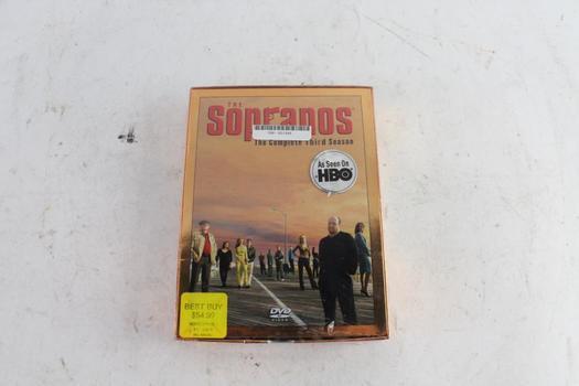 The Sopranos Complete Third Season DVD Video