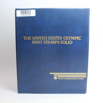 The US Olympic Mint Stamps Folio, Includes 46 Stamps