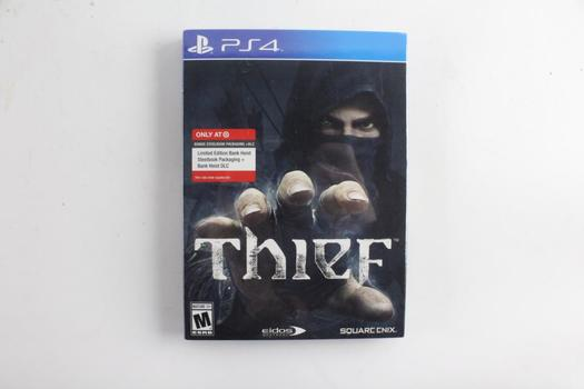 Thief Limited Edition Target Exclusive, For Sony Playstation 4