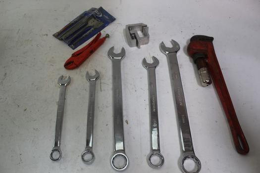 Thorson Assorted Combination Wrenches & More; 10+ Pieces