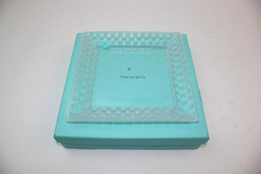 Tiffany & Co. Crystal Type Plate