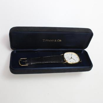 Tiffany & Co Gold Electroplated Portfolio Watch