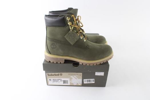 Timberland Men's Waterproof Boots, Size 10